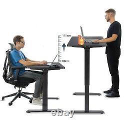 120cm De Hauteur Réglable Bureau Électrique De Standing Bureau D'accueil Sit Up Bureau Us