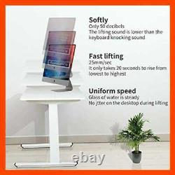 Agreeca Electric Standing Desk Hauteur Réglable 48 X 24 Memory Sit Stand Home