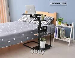 Azeler Home Office Desk Hauteur Réglable Pour Debout Ou Assis, Chêne