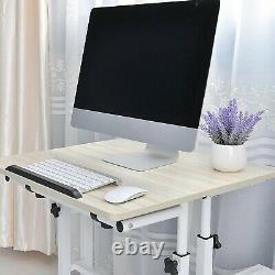 Bureau D'ordinateur Polyvalent De Bureau À La Maison, Bureau Mobile De Sit And Stand, Poste De Travail