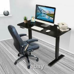 Bureau De Siège Bureau Électrique De L'ordinateur Debout Table Hauteur Réglable Bureau D'accueil