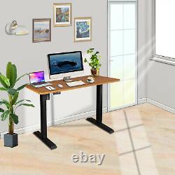 Bureau Debout 48x24 Hauteur Réglable Desk Electric Sit Stand Desk Home Office