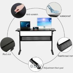 Bureau Debout Bureau Réglable Bureau Stand Up Desk Sit Stand Desk Pour Ordinateur Portable 48