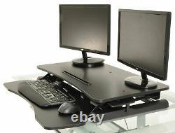 Bureau Debout Bureau Réglable Hauteur Asseyez-vous Pour Tenir Poste De Travail Ergonomique