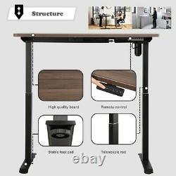 Bureau Électrique Debout Hauteur Réglable Memory Touch Control Sit Stand Up Desk