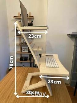 Bureau Permanent Réglable Bureau Portable Ergonomique Et Flexible