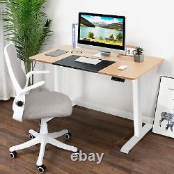 Costway Electric 55x28 Standing Desk Sit Stand Hauteur Ajustable Splice Board