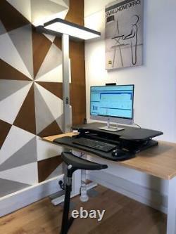Efurnit Series 151 Standing Desk Riser, Poste De Travail Réglable De La Hauteur