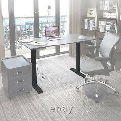 Electric Standing Desk Riser Sit Stand Hauteur Réglable Moteur Dual Motorisé