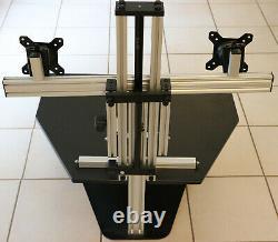 Ergoguys Kangaroo Elite Ajustable Sit And Stand Workstation Duo-monitor Stand