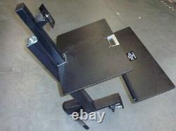 Ergotron 33-350-200 Workfit-s Moniteur LD Unique Bureau Sit-stand