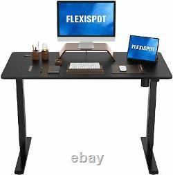 Flexispot Standing Desk Hauteur Ajustable Desk Electric Sit Stand 48 X 24 Pouces