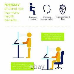 Forest Electronic Sit Stand Bureau Cadre Motorisé, Réglable En Hauteur Et En Largeur