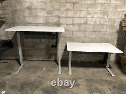 Humanscale Float Desk 30x60 Haut Réglable Sit To Stand Desk Blanc