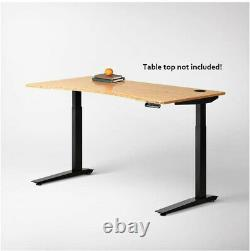 Jarvis Standing Desk Frame Only Electric Réglable Hauteur Sit Stand Desk Used