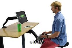 Kt2 Sit Stand Keyboard Plateau Réglable Ergonomie Keyboard Stand Racker