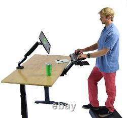 Kt2 Sit Stand Keyboard Tray Réglable Ergonomique Clavier D'ordinateur Stand Riser