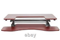 Licol Ed-258 Préassemblé Hauteur Réglable Bureau Sit/stand Desk Élevant De