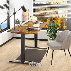 Maidesite 55 Bureau De Standing Électrique Ajustable Hauteur Sit Stand Up Bureau Usb