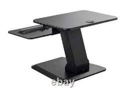 Monoprice Ajustable Gas Ressort Sit Stand Riser Table/desk Converter Noir