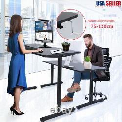 Multifuction Stand Up Table Réglable En Hauteur Siège Debout Écriture Pc Desk