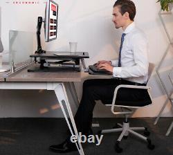 Nouvel Électrateur De Bureau Debout, Convertissez Votre Bureau En Poste De Travail Réglable De Sit/stand