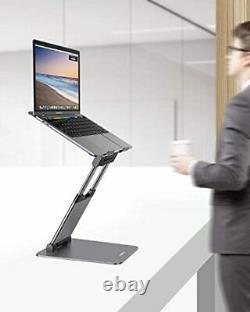 Nulaxy Support Pour Ordinateur Portable, Sit Ergonomique Pour Tenir Debout Convertisseur Pour Ordinateur Portable, Réglable