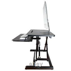 Poste De Travail Ergonomique De Table D'élévation De Table De Moniteur Réglable De Position De Table De Table De Stand De Siège