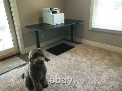 Realspace Sit Stand Bureau-magellan 43 X 60 X 30 Hauteur Pneumatique Réglable