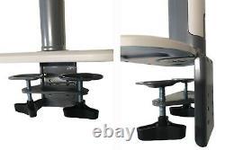 Sit Stand Desk Convertisseur Hauteur Réglable Debout Et Bureau Assis Moniteur Bras