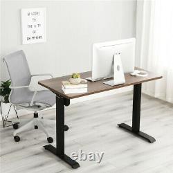 Sit Stand Desk Electric Standing Up Computer Table Hauteur Réglable Home Office
