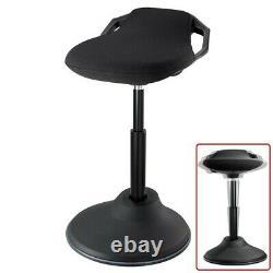 Sit Stand Perch Stool Seat Dynamic Standing Desk Chair Hauteur Bureau Réglable