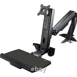 Startech Sit Stand Monitor Arm Desk Mount Vesa Kit De Montage Réglable