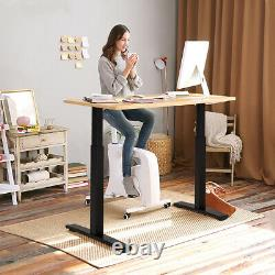 Support Électrique Stand Up Desk Frame Dual Motor Height Adjustable Sit Stand Withcontroller