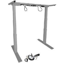 Titan Dual Motor Electric Adjustable Base Height Sit-stand Standing Desk Frame