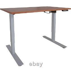 Titan Fitness A2 Ajustable Sit/stand Desk 30 X 60 Cerise Finition Argent Cadre