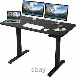 Titimo Electric Réglable Standing Desk, Sit Stand Up Desk Avec Paramètres De Mémoire
