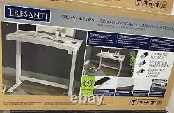 Tresanti 47 Sit/stand Tech Réglable Height Desk, Led Touch Control, Sans Fil