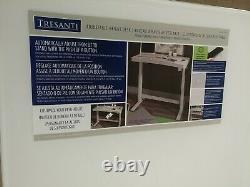 Tresanti Bureau En Hauteur Réglable, Sit Blanc Ou Support Charge Sans Fil -nouveaux Autres
