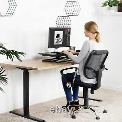 Vivo Hauteur Économique Réglable 29 Standing Desk Sit Stand Desktop Monitor Riser
