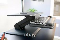 Vivo Hauteur Réglable Standing Desk Monitor Riser Gas Spring 36 Tabletop Sit