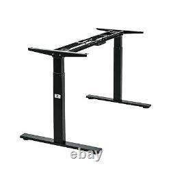 Vwindesk Vf Electric Duble Motors Hauteur Réglable Sit Stand Folding Desk Frame