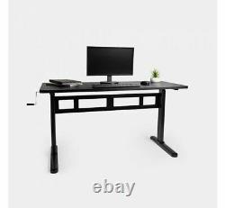 (qualité Supérieure) Bureau D'ordinateur De Bureau Réglable De Table De Bureau De Sit-stand De Hauteur